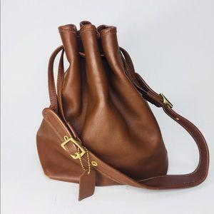 COACH Drawstring Legacy Bucket Tote Bag EOD-9165